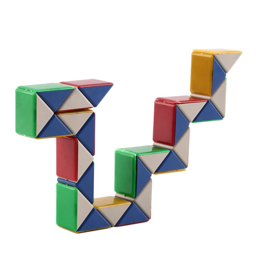 Out of the blue 61//6604 3D Magic Cube snake Retro Travel Puzzle Toy