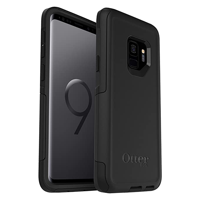 save off 1255f d825c OtterBox Commuter Series Case for Samsung Galaxy S9 - Frustration Free  Packaging - Black