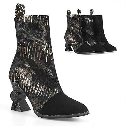 Moda Alto Tacco Spessa Stivali Stivali Stivali Stivali