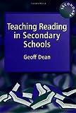Teaching Reading in Secondary Schools, Geoff Dean, 1853466611