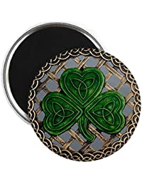 Acquisition CafePress Shamrock And Celtic Knots Magnet - Standard Multi-color dispense