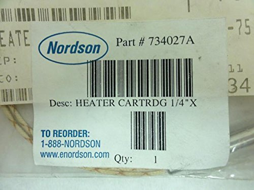 Nordson 734027A Heater Cartridge, 1/4'' X 2.75'', 230V, 75W