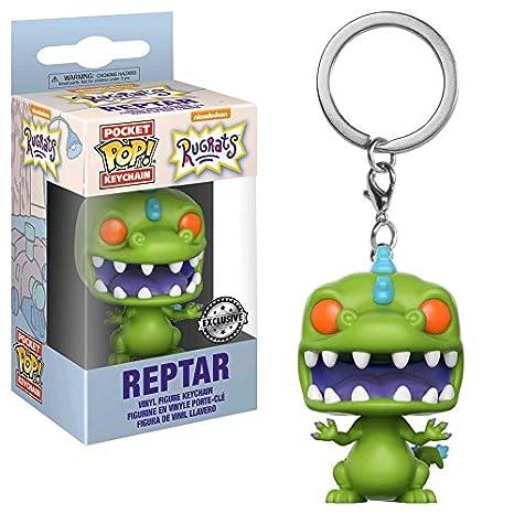 Amazon.com: Funko POP Llavero: Reptar – Rugrats de níquel ...