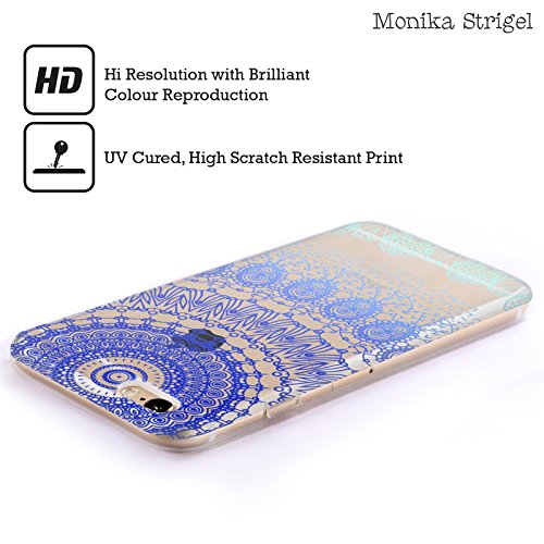 Officiel Monika Strigel Bleu Lacet Boho 2 Étui Coque en Gel molle pour Apple iPhone 6 Plus / 6s Plus