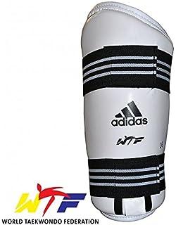 newest a7b75 af010 adidas Martial Arts, WTF Taekwondo Antebrazo Protectores – Color Blanco