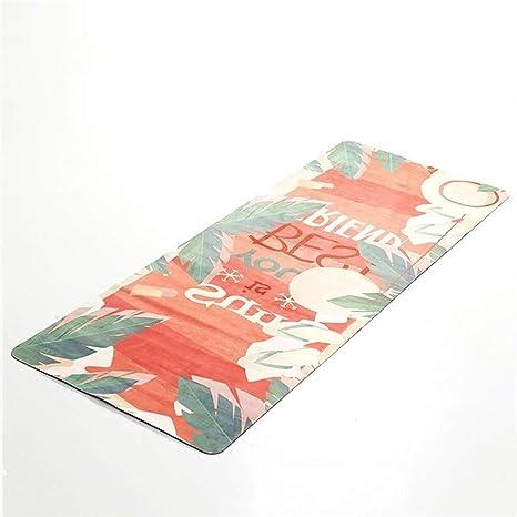 Mat Yoga Eco Friendly Antideslizante Yoga Mat 1,5 Mm del ...