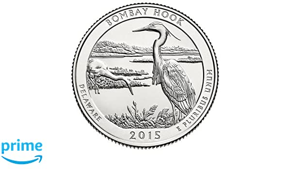 BOMBAY HOOK 2015-S Silver Proof ATB Quarter