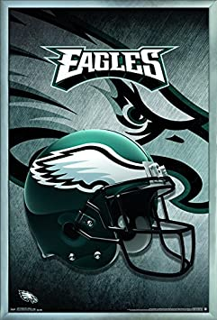 22.375 x 34 Trends International Wall Poster Philadelphia Eagles Helmet