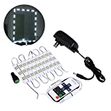 Makeup Vanity Diy LED Mirror Light Kit,5FT/10FT white Lighte Cosmetic Makeup Mirror LED Light+Remote+Power (5FT)