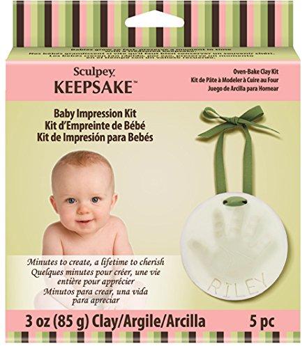 Polyform Sculpey Keepsake Baby Impression ()