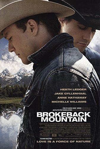 "Brokeback Mountain 2005 Reliable 27"" x 41"" Original Movie Poster Rolled Fine Randy Quaid Drama U.S. One Sheet"