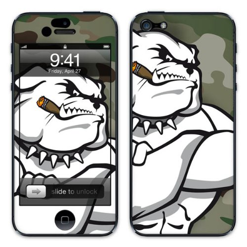 Diabloskinz B0081-0064-0010 Vinyl Skin für Apple iPhone 5/5S Winston 4