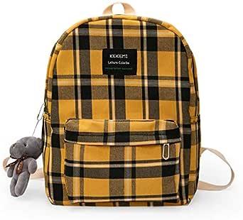 حقيبة ظهر للنساء طراز كبير السعة حقائب الطالب الحلو ليدي