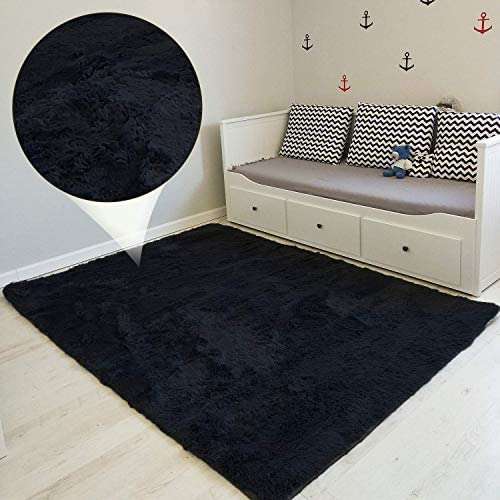 Amazinggirl alfombras Salon Grandes Pelo Largo Alfombra