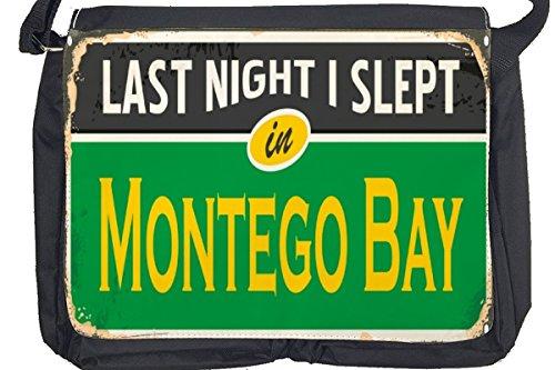 Borsa Tracolla Città Montego Bay Giamaica Stampato