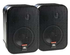 JBL Control 1 PRO - Juego de 2 monitores, color negro