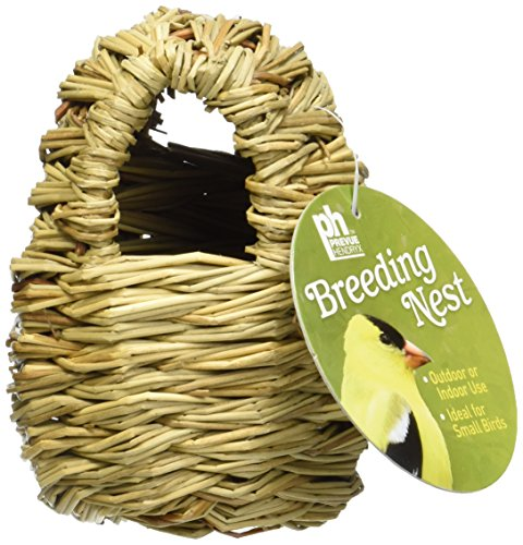 Prevue-Pet-Products-BPV1151-Finch-Covered-Twig-Birds-Nest-4-Inch