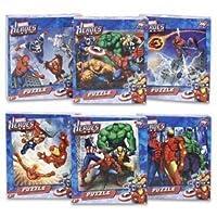 Puzzle de Marvel Heroes (los rompecabezas pueden variar)