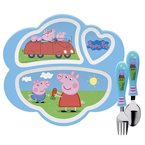Trolls Zak Designs 10 Melamine Kids Dinner Plate Pink ~ set of 2