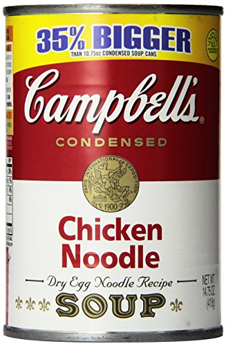 Amazon Com Campbell S Noodle Soup Chicken 14 75 Ounce Pack Of 12 Packaged Chicken Soups Grocery Gourmet Food