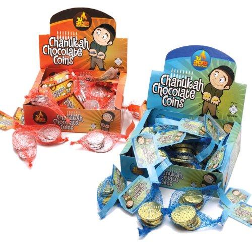 - Chanukah Pareve Chocolate Coins / 24 Sacks