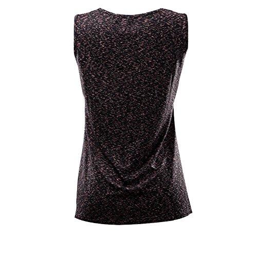 Allattamento MUCHAO maniche Vest senza Abbigliamento donna Nero Traspirante Allattamento Canottiere Top HaqOHF