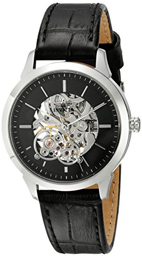 Invicta Women's 18119 Specialty Analog Display Mechanical Hand Wind Black Watch