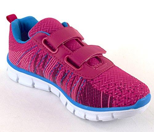 Klettverschluss Damen ACO Sneaker Sneaker Pink Damen ACO Klettverschluss ACO Pink 7wSdRq