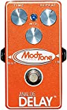 Some players wouldn't dare leave the house without a delay pedal in their arsenal. Whether used for a gentle slap back or a longer more atmospheric application, there is just no substitute for a good reliable delay pedal. The Modtone MT-VD features e...