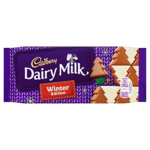 Cadbury Dairy Milk Winter Wonderland 100G (Wholesale Grocery Item For Christmas) (Case Of 6)
