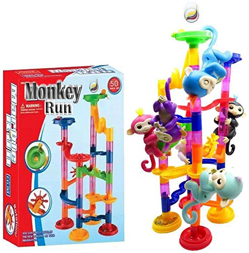 Marble Monkey Run Playground Stent For Finger Baby Monkey (Suspender Outfit Dancer)