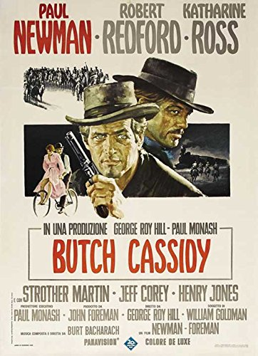 Butch Cassidy and the Sundance Kid 1969 Movie Poster - Italian Style A