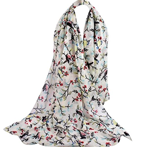 di morbido Sciarpa Sciarpe giallo sciarpe lungo spiaggia elegante casual Chic chiffon di stampato di moda Adeshop multifunzionali donne Sciarpe di scialle di Ax0rIqvw0