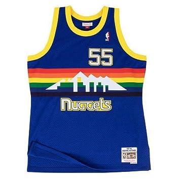 8587ec895895 Mitchell   Ness Swingman NBA Jersey - Denver Nuggets - Mutombo -  91- 92  (Small)  Amazon.co.uk  Sports   Outdoors