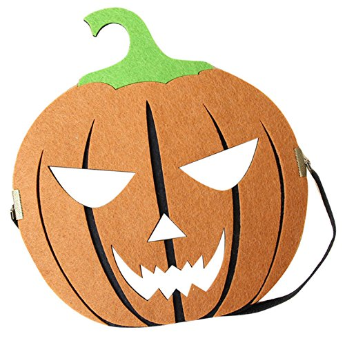 Choosebuy Funny Pumpkin Head Mask for Halloween Christmas Party, Exquisite Masquerade Cutout Ball Carnival Fancy Prom Party Mask Accessories (A)