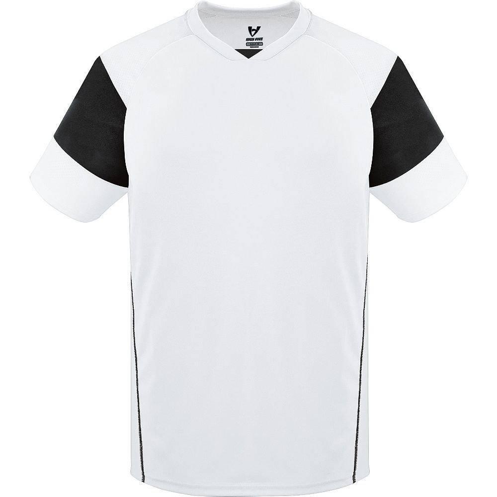 High Five Sportswear SHIRT メンズ B00UMDH6W0 XL|ホワイト/ブラック/ホワイト ホワイト/ブラック/ホワイト XL
