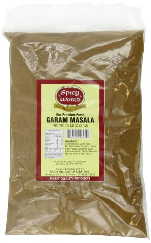 Spicy World Garam Masala Bulk, 5-Pounds by Spicy World