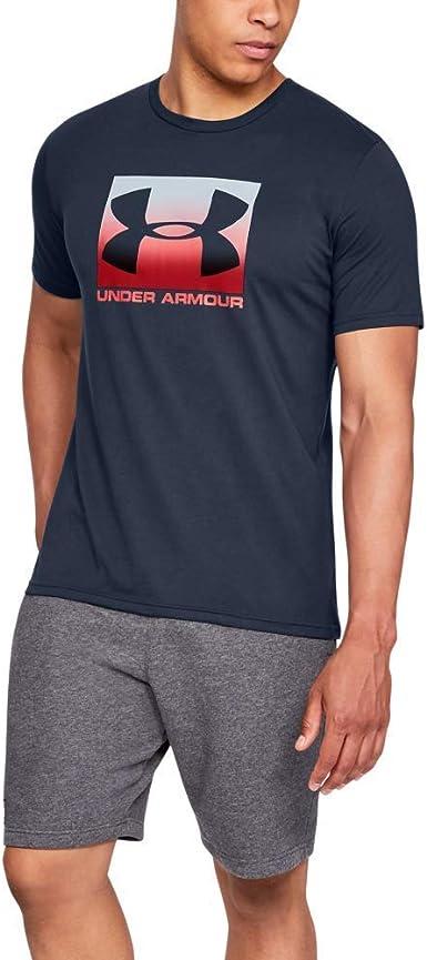 Teoría básica Independencia motivo  Under Armour UA Boxed Sportstyle Short Sleeve Camiseta Hombre: Under Armour:  Amazon.es: Ropa y accesorios