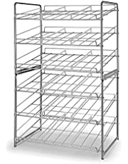 Simple Trending Can Rack Organizer, Stackable Can Storage Dispenser Holds up to 36 Cans for Kitchen Cabinet or Pantry