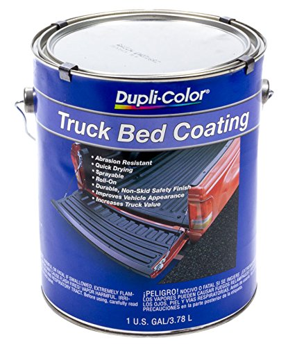 Dupli-Color TRG252 Black Truck Bed Coating, 128. Fluid_Ounces