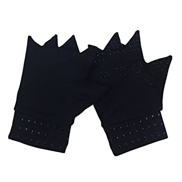 51c8f9bf86 JasmineLi Magnetic Anti-Arthritis Therapeutic Therapy Dispensing Gloves  Relief Hand Pain Heal Joints Relief