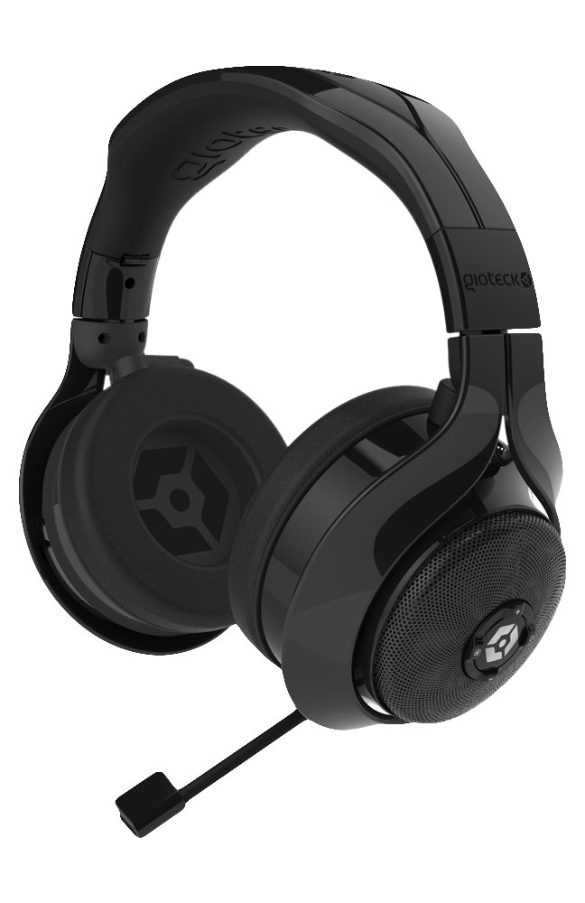 Gioteck FL-300 Wired Stereo Headset with Removable Bluetooth Speakers - Black