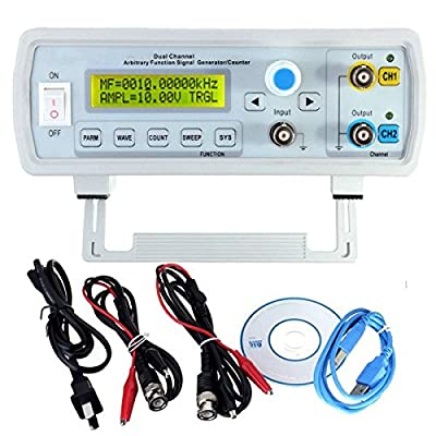 24MHz Dual-channel Arbitrary Waveform DDS Function Signal Generator Sine Square Wave Sweep Counter FY3224S (FY3200S-24M)