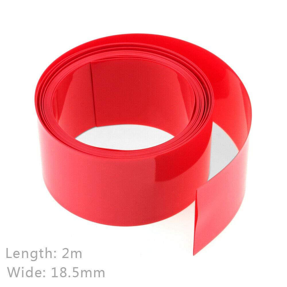 gaine de c/âble Senise Tube thermor/étractable gaine /électrique en PVC thermor/étractable pour batterie jaune