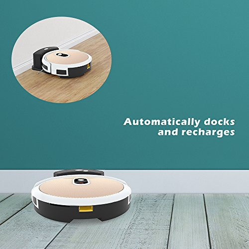 Amazon.com: Robot Vacuum Cleaner and Mop IMASS A3-WGD Robot Cleaner with Wi-Fi Connectivity App Control Auto Charge Home Cleaning for Pet Hair, Dirt, ...