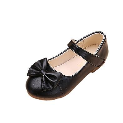 8c6a6da872b4 YYF Fille Enfant Ballerine Sandale Confortable a la Mode avec Noeud a Deux  Boucles