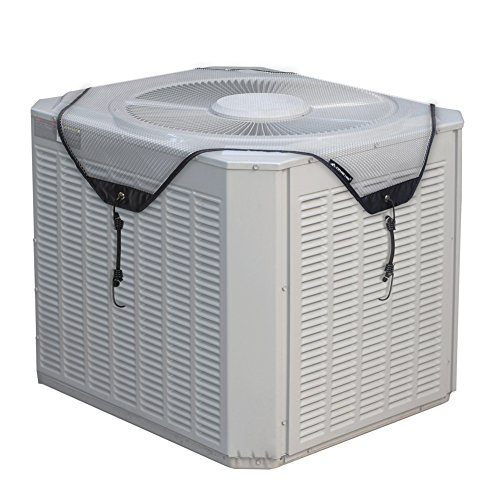 Porch Shield Air Conditioner Unit Top Mesh Cover 28 inch, Gray by Porch Shield