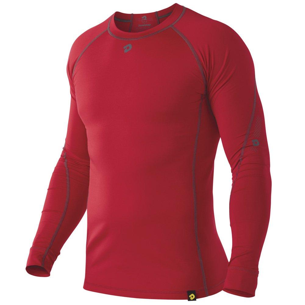 DeMariniメンズComotion Winterball長袖シャツ B00GUO97SG XL|スカーレット スカーレット XL