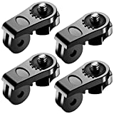 Neewer Universal Conversion Adapter (1 4 Inch 20) Mini Tripod Screw Mount Fixing GoPro Hero 6 Accessories to Sony Olympus and Other Action Cameras(4 Pack)