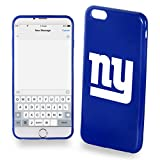 Forever Collectibles - (NFL) New York Giants Protective TPU Soft Case Cover for iPhone 6 Plus - Retail Packaging New